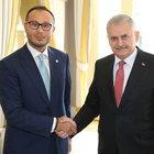 Başbakan Binali Yıldırım, Pakistan Pencap Eyaleti Başbakanı Şahbaz Şerif ile görüştü