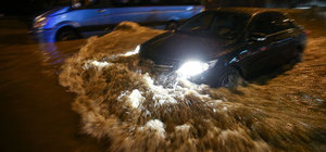 Başkentte şiddetli yağış