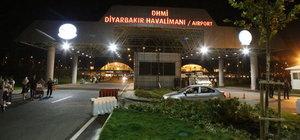 Diyarbakır'da havalimanına saldırı