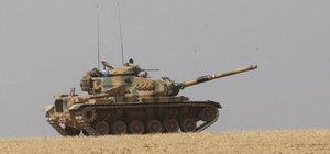 Türk jetleri YPG'nin cephanesini vurdu