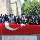 Şehit polis Mehmet Dama toprağa verildi