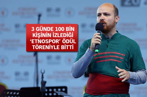 Bilal Erdoğan: Geleneksel sporlarımızın hak ettiği değeri görmesini istiyoruz
