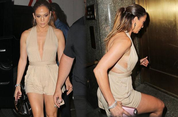 Jennifer Lopez'e yoğun ilgi