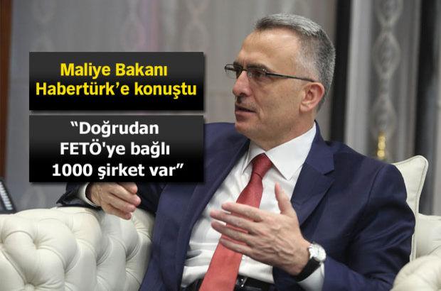 Maliye Bakanı Naci Ağbal Habertürk'e konuştu