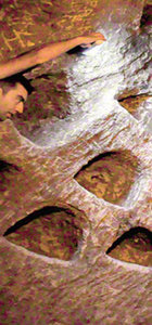 Kırşehir'de keşfedilen yeraltı şehri ziyarete açıldı