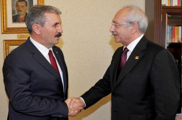CHP Lideri, BBP Başkanı Destici ile görüştü