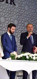Cumhurbaşkanı Recep Tayyip Erdoğan ve Başbakan Binali Yıldırım nikah şahidi oldu