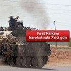 TSK: Dün 21 hedef 108 atışla vuruldu