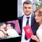 Manisa'da hayatını kaybeden baba kız toprağa verildi