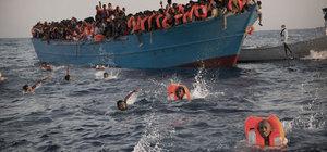 Libya açıklarında 6 bin 500 mülteci kurtarıldı