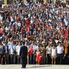 Turkey: July 15 martyrs' families join Victory Day