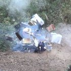 Çorum'da ormanlık alandaki şüpheli çantadan FETÖ dökümanları çıktı