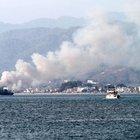 Fethiye'de sazlık alanda yangın çıktı