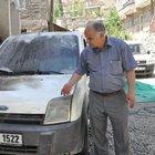 Köy Korucuları Derneği Başkanı Sadi Özatak'ın aracına bombalı saldırı
