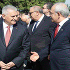Liderler arasındaki bahar havası törene yansıdı