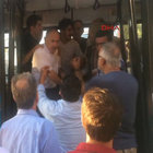 Ümraniye'de yaşlı adam zorla otobüsten indirildi