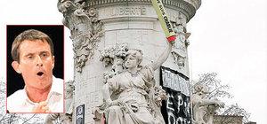 Fransa Başbakanı burkini yasağını Marianne ile savundu