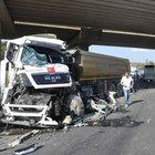 Tekirdağ'da yolcu otobüsü ile kamyon çarpıştı: 7 yaralı