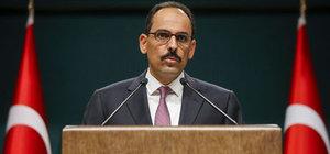 Cumhurbaşkanlığı Sözcüsü İbrahim Kalın'dan ABD'ye PYD yanıtı