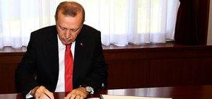 Cumhurbaşkanı Erdoğan İsrail'le normalleşme anlaşmasını onayladı