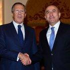 Mevlüt Çavuşoğlu Lavrov ile görüştü