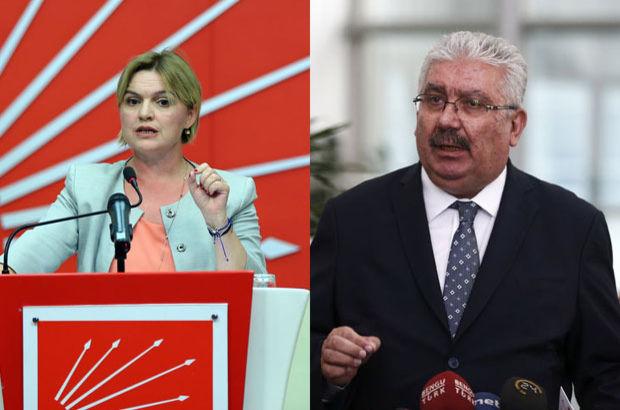 MHP Genel Başkan Yardımcısı Semih Yalçın CHP  Selin Sayek Böke