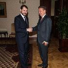 Enerji Bakanı Berat Albayrak Gazprom heyetini kabul etti