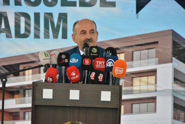 Çalışma ve Sosyal Güvenlik Bakanlığı'na atanan Mehmet Müezzinoğlu.