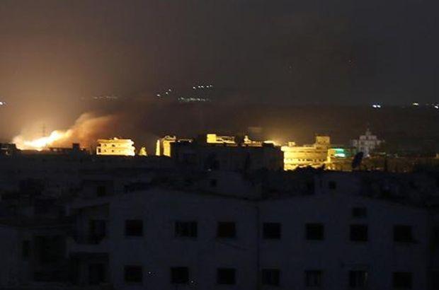 Rus uçakları fosfor bombası