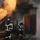 Adıyaman'da kundaklandığı iddia edilen ev yandı