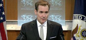 ABD Dışişleri Bakanlığı Sözcüsü Kirby'den PYD açıklaması