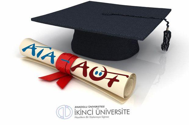 AÖF ikinci üniversite kayıt