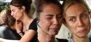 Gözyaşlarıyla uğurlandı