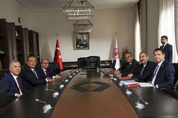 'Mini Anayasa' toplantı