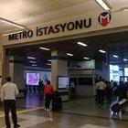 Atatürk Havalimanı metro girişine dedektörlü kapı konuldu