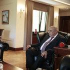 Başbakan Yardımcısı Türkeş, Denktaş ile bir araya geldi