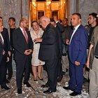 AP Başkanı Martin Schulz TBMM'nin hasar gören kısımlarını gezdi