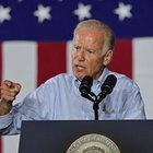 Joe Biden, Clinton'a destek mitinginde