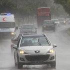 Adana'da yağmur şaşkınlığı
