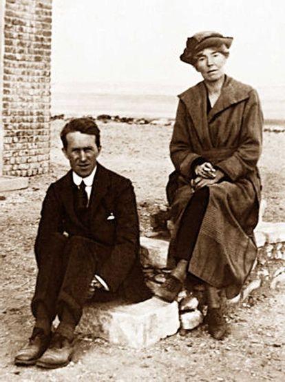 Gertrude Bell ve Lawrence.