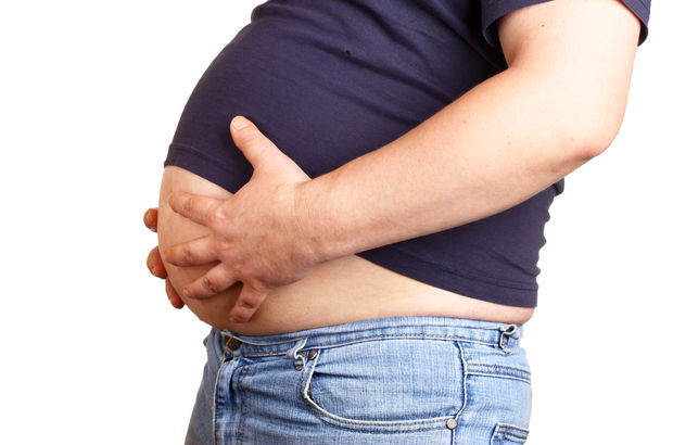Her dört erkekten biri obezite hastası...