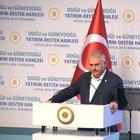 Yenikapı ruhu Başbakan'ın Diyarbakır ziyaretine de taşınmak istendi