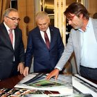 Başbakan Yıldırım, TOKİ Başkanı Turan ve Göztepe Kulübü heyetini kabul etti