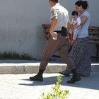 Çorum'da cezaevine ziyarete giden kadın hırsızlıktan tutuklandı
