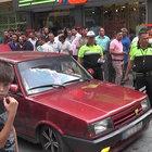 Uşak'ta trafik magandası gerginliği