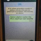YAZDI AMA CEVAP GELMEDİ...