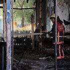 Ümraniye'de bir kafede yangın çıktı