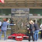 Atatürk Havalimanı'nda terör kurbanları anısına anıt