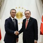 Cumhurbaşkanı Erdoğan NATO Genel Sekreteri ile bir araya geldi