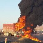 Şanlıurfa Birecik'te feci kaza: 1 ölü 20 yaralı